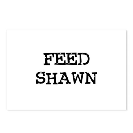 Feed Shawn Postcards (Package of 8)