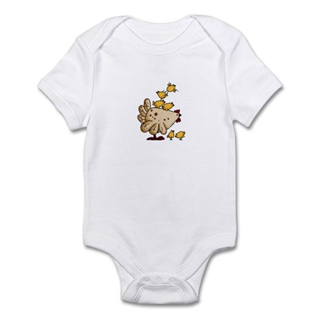 chickens Infant Bodysuit