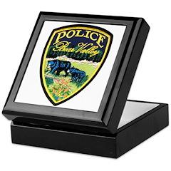 Bear Valley Police Keepsake Box