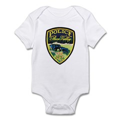 Bear Valley Police Infant Bodysuit