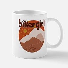 BikerGirl Sunset Sky Lefty Mug