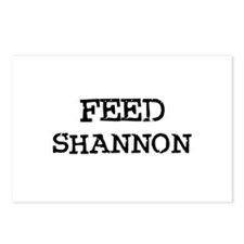 Feed Shannon Postcards (Package of 8)