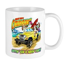 Jan's Jeep Dogs copy Mugs