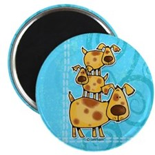 """doggy stack 2.25"""" Magnet (100 pack)"""