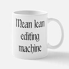 Mean lean editing machine Small Small Mug