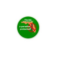 Florida Drilling Ban Mini Button