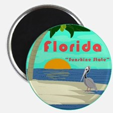 Florida Sunshine State Pelican Magnet Magnets