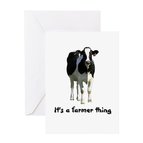 Farmer Thing Greeting Card