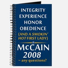 McCain For President Journal