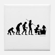 Computer Evolution Tile Coaster
