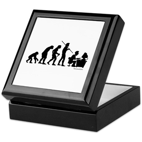 Computer Evolution Keepsake Box