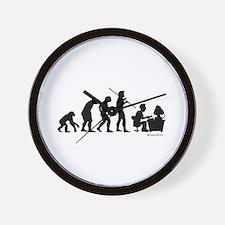 Computer Evolution Wall Clock