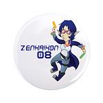 """Zenkaikon 2008 Chibi 3.5"""" Button"""