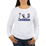 Zenkaikon 2008 Chibi Women's Long Sleeve T-Shirt