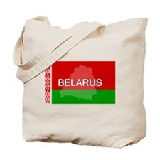 Belarus Flag + Tote Bag