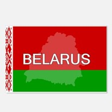 Belarus Flag + Postcards (Package of 8)