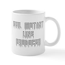 Evil mutant line producer #1 Small Mug