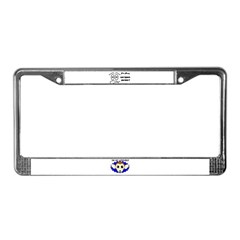 BUSY RIGHT NOW License Plate Frame