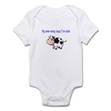 Moo-mmy Infant Bodysuit