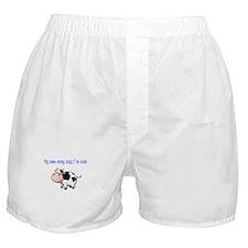 Moo-mmy Boxer Shorts