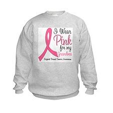 I Wear Pink For My Grandma Sweatshirt