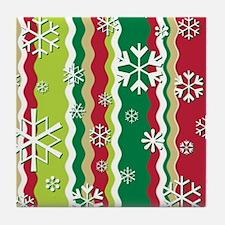 SNOWFLAKES Tile Coaster