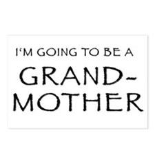I'm going to be a Grandmother Postcards (Package o