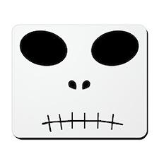'Halloween Skull' Mousepad