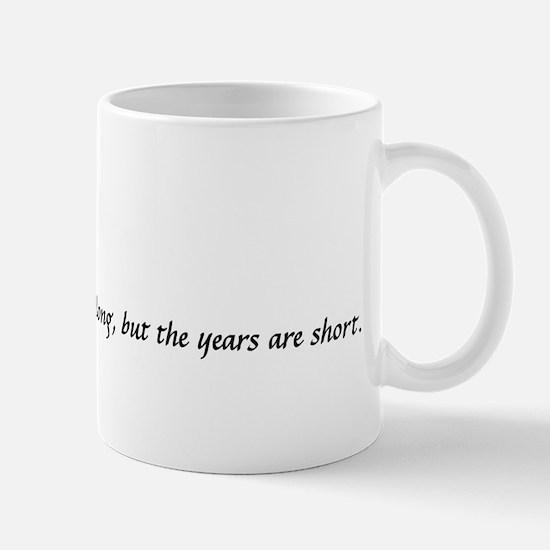 2-years are short copy Mugs