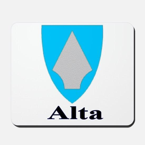 The Alta Store Mousepad