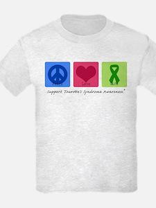 Peace Love Cure Tourette T-Shirt