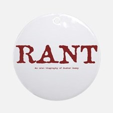 """Buster """"Rant"""" Casey Ornament (Round)"""