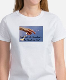 God Is Left-Handed Tee