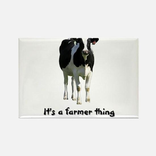 Farmer Thing Rectangle Magnet