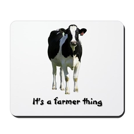Farmer Thing Mousepad