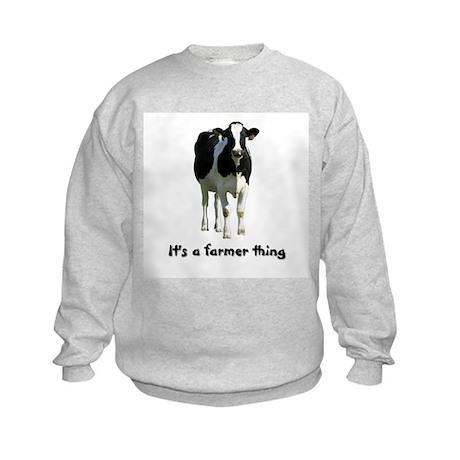 Farmer Thing Kids Sweatshirt