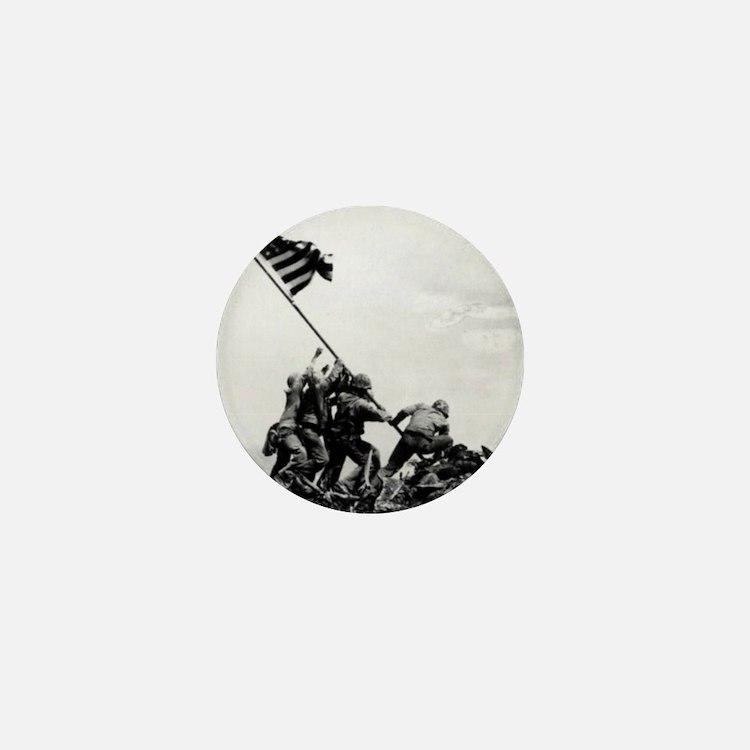 Iwo Jima Mini Button