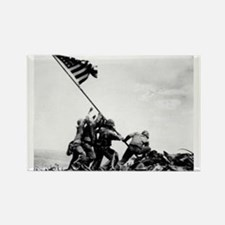 Iwo Jima Rectangle Magnet