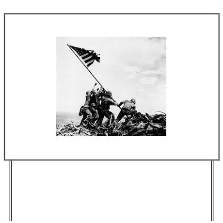 Iwo Jima Yard Sign