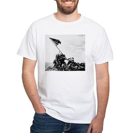 Iwo Jima White T-Shirt