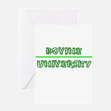 Bovine University Greeting Card