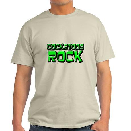 Cockatoos Rock Light T-Shirt