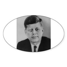 John F. Kennedy Oval Decal