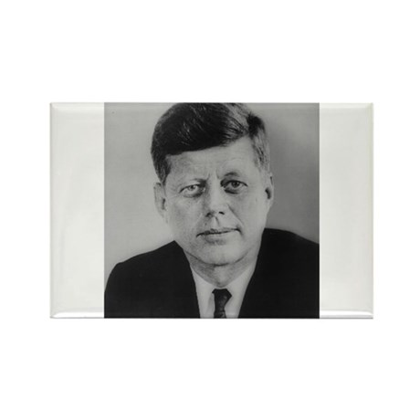 John F. Kennedy Rectangle Magnet (100 pack)