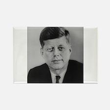 John F. Kennedy Rectangle Magnet