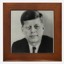 John F. Kennedy Framed Tile