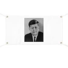 John F. Kennedy Banner