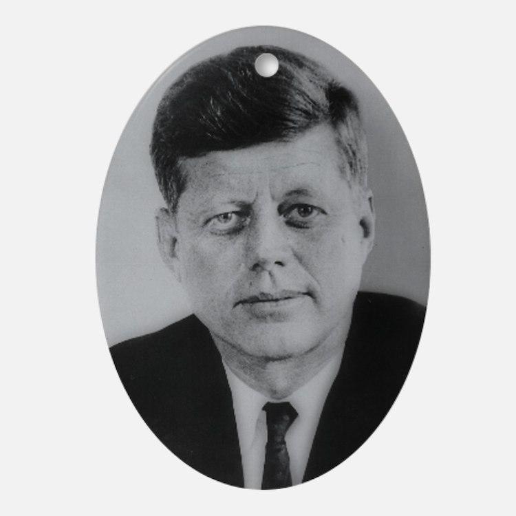 John F. Kennedy Oval Ornament
