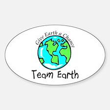 Team Earth Oval Decal