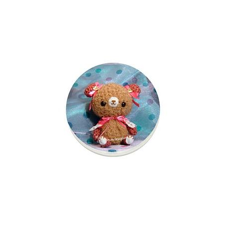 Amigurumi Pink Bear : Amigurumi Pink Princess Bear Button by amigurumik